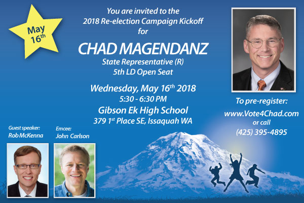 Campaign Kickoff Breakfast for Chad Magendanz